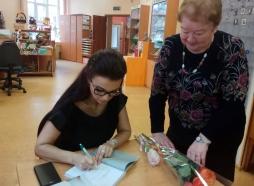 Встреча с читателями в библиотеке г. Подольск