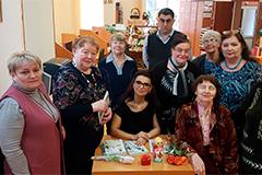 Татьяна Маругова в библиотеке им. Павла Северного